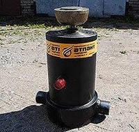 Гидроцилиндр подьема платформы (кузова) НЕФАЗ 3-х штоковый (8560-8603010-01), фото 1