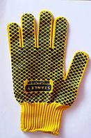 Перчатки Синтетика с ПВХ покрытием, фото 1