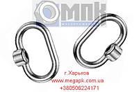Гайка с кольцом для крышки DIN 28129