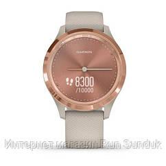 Vivomove 3S розовое золото с песочным ремешком
