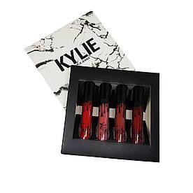 Набор жидких помад Kylie Jenner Velvet Liquid Lip Kollection #B/E