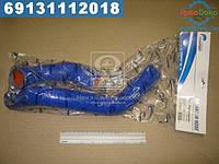 ⭐⭐⭐⭐⭐ Патрубок радиатора ГАЗ 3302 (Cummins 2.8s4) (комплект 2 шт. силикон) (TEMPEST)  TP.1353