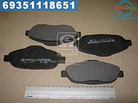 ⭐⭐⭐⭐⭐ Колодка торм. диск. ПЕЖО 308 1.4-2.0 07-,3008 1.6HDI 09- передн. (производство  Intelli)  D302E