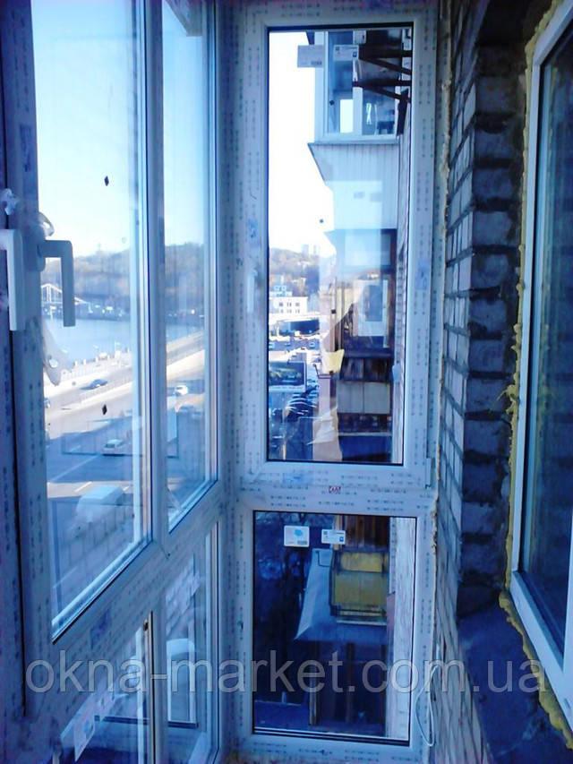 Французский балкон в Киеве ― компания Окна Маркет