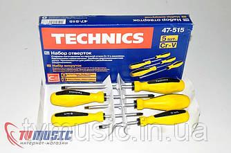 Набор отверток Technics 47-515 (5 шт.)