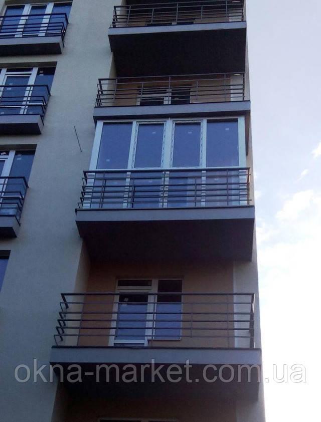 Французский балкон ― компания Окна Маркет