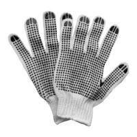 Перчатки трикотажные с точечным ПВХ покрытием р10 (двухсторонние манжет) Sigma (9442331)
