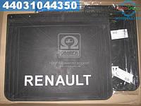 ⭐⭐⭐⭐⭐ Брызговик 500X600X4 с объемной надписью РЕНО (TEMPEST)  TP 95.47.42