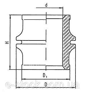 Изоляторы фарфоровые проходные неармированные ИПК-10-2000, Изолятор ИПК-10-2000-10 УЗ, ИПК 10 2000 10 УЗ