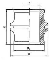 Изоляторы фарфоровые проходные неармированные ИПК-10-4000, Изолятор ИПК-10-4000-15 УЗ, ИПК 10 4000 15 УЗ