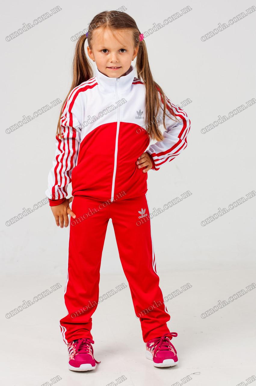 Детский спортивный костюм копия Adidas red