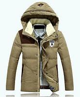 Мужская куртка пуховик, разные цвета  МК-219-О, фото 1