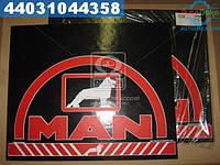 ⭐⭐⭐⭐⭐ Брызговик 500X600X4 (цветной) с надписью МAН (TEMPEST)  TP 95.47.50