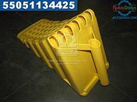 ⭐⭐⭐⭐⭐ Упор противооткатный пластиковый 470х200х230мм желтый (производство  Петропласт)  PPL 70500129