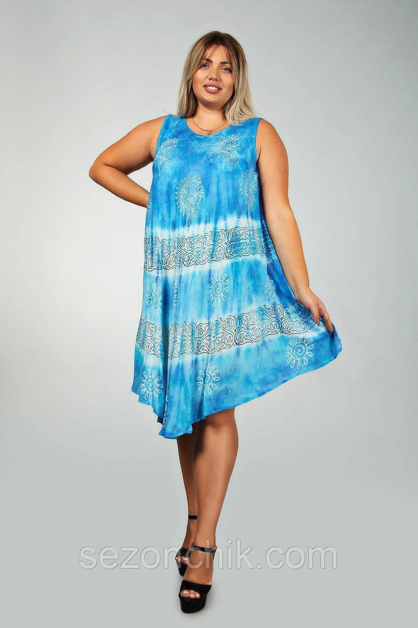 Платье летнее женское большие размеры