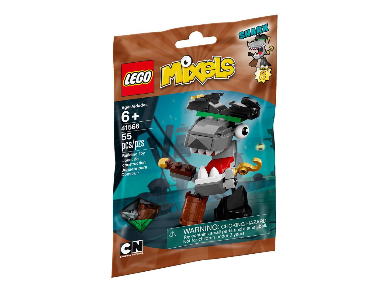 Лего Миксели Lego Mixels Шаркс 41566