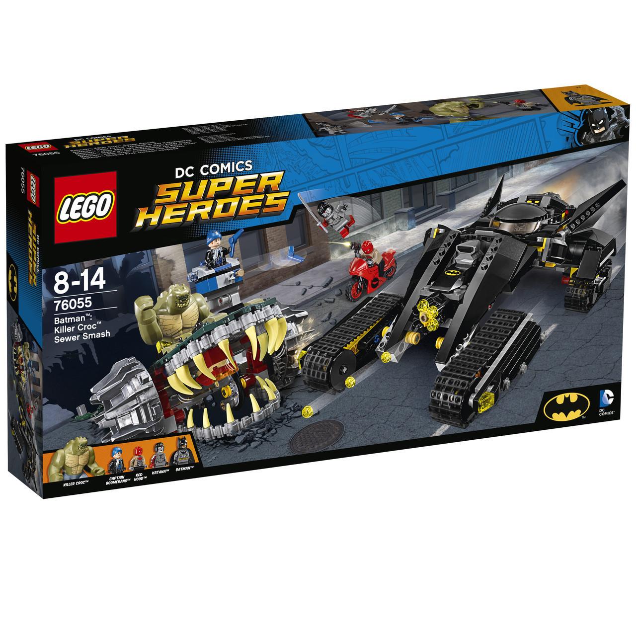 LEGO Super Heroes Убийца Крок Схватка в канализации 76055