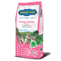Сухой безглютеновый корм для щенков и молодых собак Winner Plus Holistic Puppy Junior (10102) 2 кг