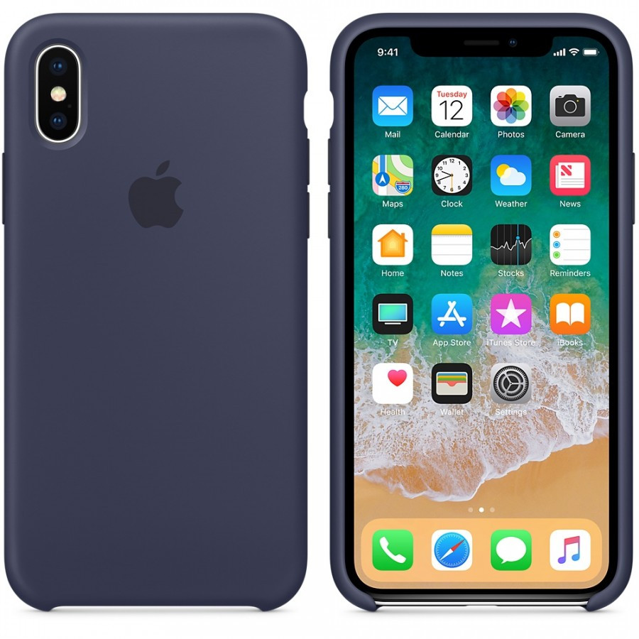 "Чехол Silicone case (AAA) для Apple iPhone X (5.8"")"