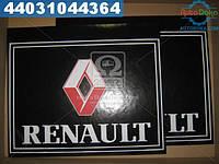 ⭐⭐⭐⭐⭐ Брызговик 500X600X4 (цветной) с надписью РЕНО (TEMPEST)  TP 95.47.56