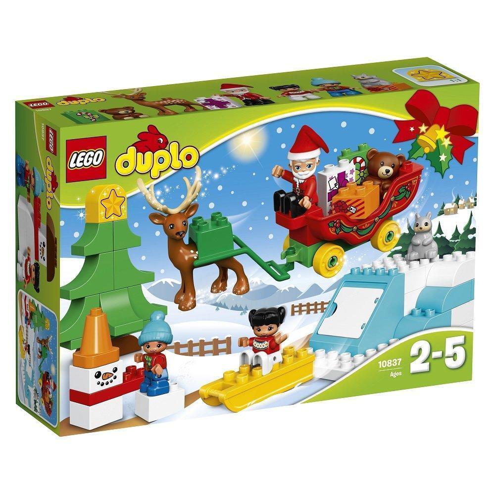 Lego Duplo Зимние каникулы Санты 10837