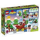 Lego Duplo Зимние каникулы Санты 10837, фото 2