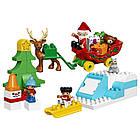 Lego Duplo Зимние каникулы Санты 10837, фото 3
