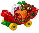 Lego Duplo Зимние каникулы Санты 10837, фото 5