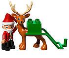 Lego Duplo Зимние каникулы Санты 10837, фото 6