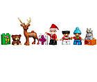 Lego Duplo Зимние каникулы Санты 10837, фото 10