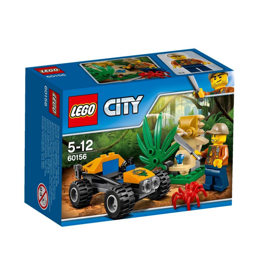 Lego City Джунгли: Багги для поездок по джунглям 60156