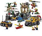 Lego City Джунгли: База исследователей джунглей 60161, фото 4