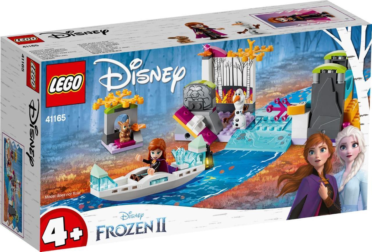 Lego Disney Princesses Экспедиция Анны на каноэ 41165