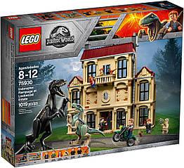 Lego Jurassic World Нападение Индораптора в поместье Локвуд 75930