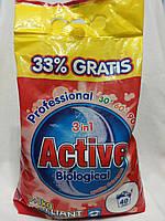 Стиральный порошок Active 3+1 кг. (40 стирок)