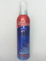 Пена для волос Taft Ultra 250 мл.