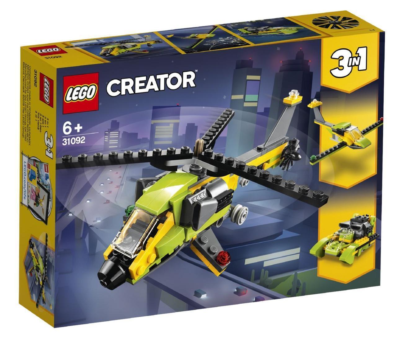 Lego Creator Приключения на вертолёте 31092