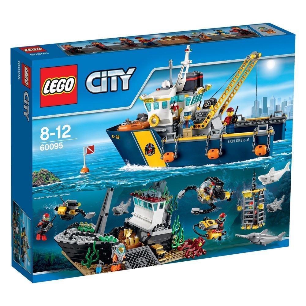 Lego City Корабль исследователей морских глубин 60095