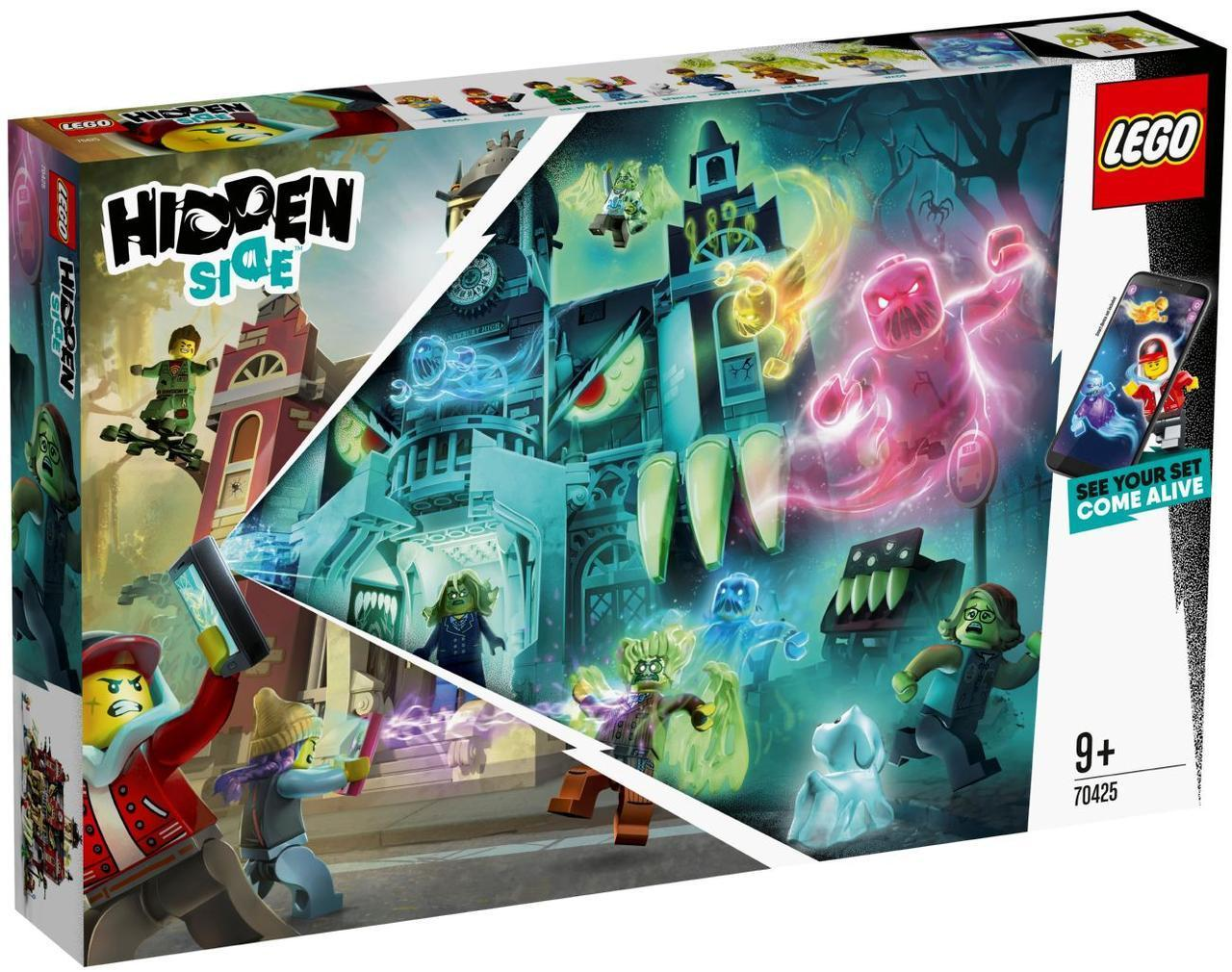 Lego Hidden Side Школа с привидениями Ньюбери 70425