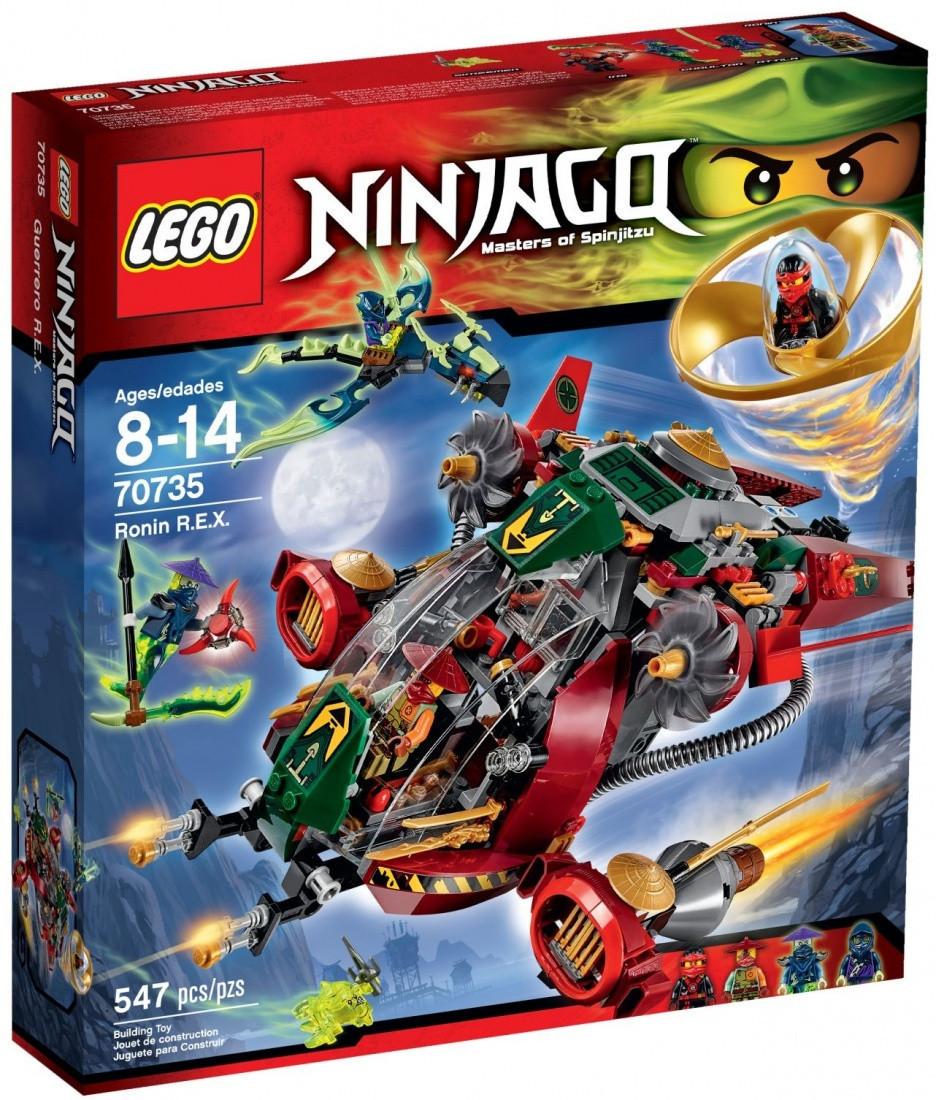 Lego Ninjago Корабль R.E.X. Ронина 70735