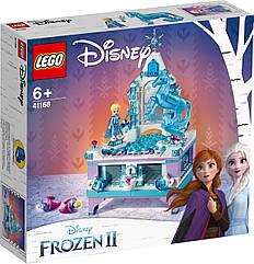 Lego Disney Princesses Шкатулка Эльзы Лего дисней 41168