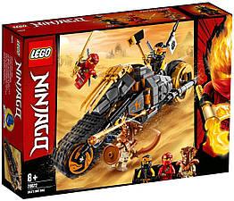 Lego Ninjago Раллийный мотоцикл Коула 70672