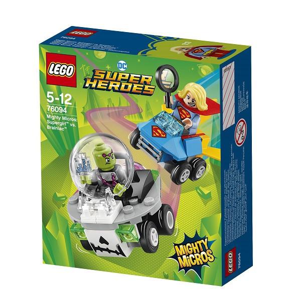 Lego Super Heroes Супергёрл против Брейниака 76094