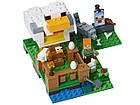 Lego Minecraft Курятник 21140, фото 3