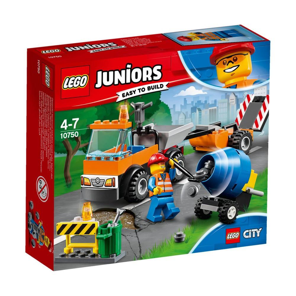 Lego Juniors Грузовик дорожной службы 10750