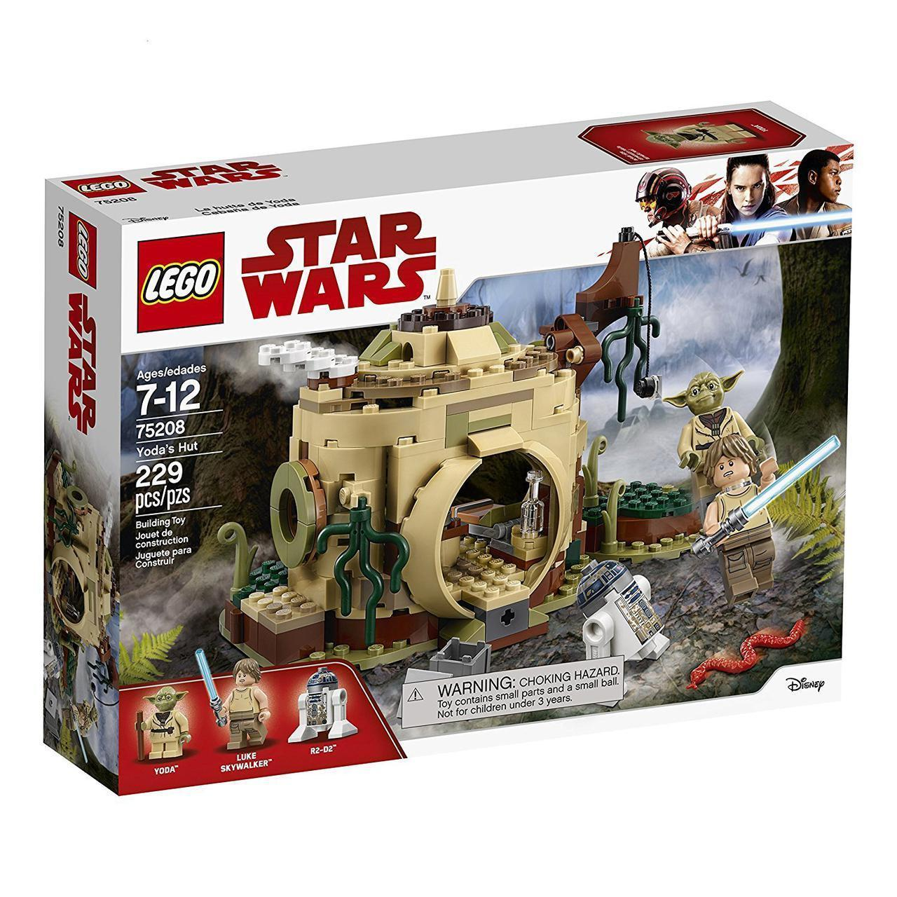 Lego Star Wars Хижина Йоды 75208