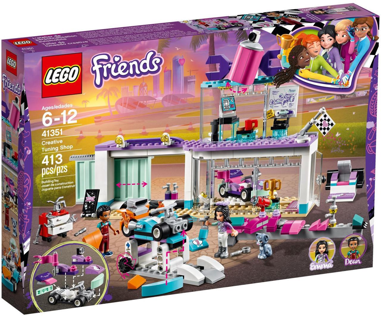 Lego Friends Мастерская по тюнингу автомобилей 41351