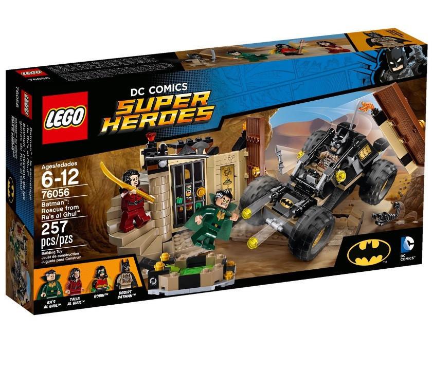 Lego Super Heroes Спасение от Ра'с аль Гула 76056