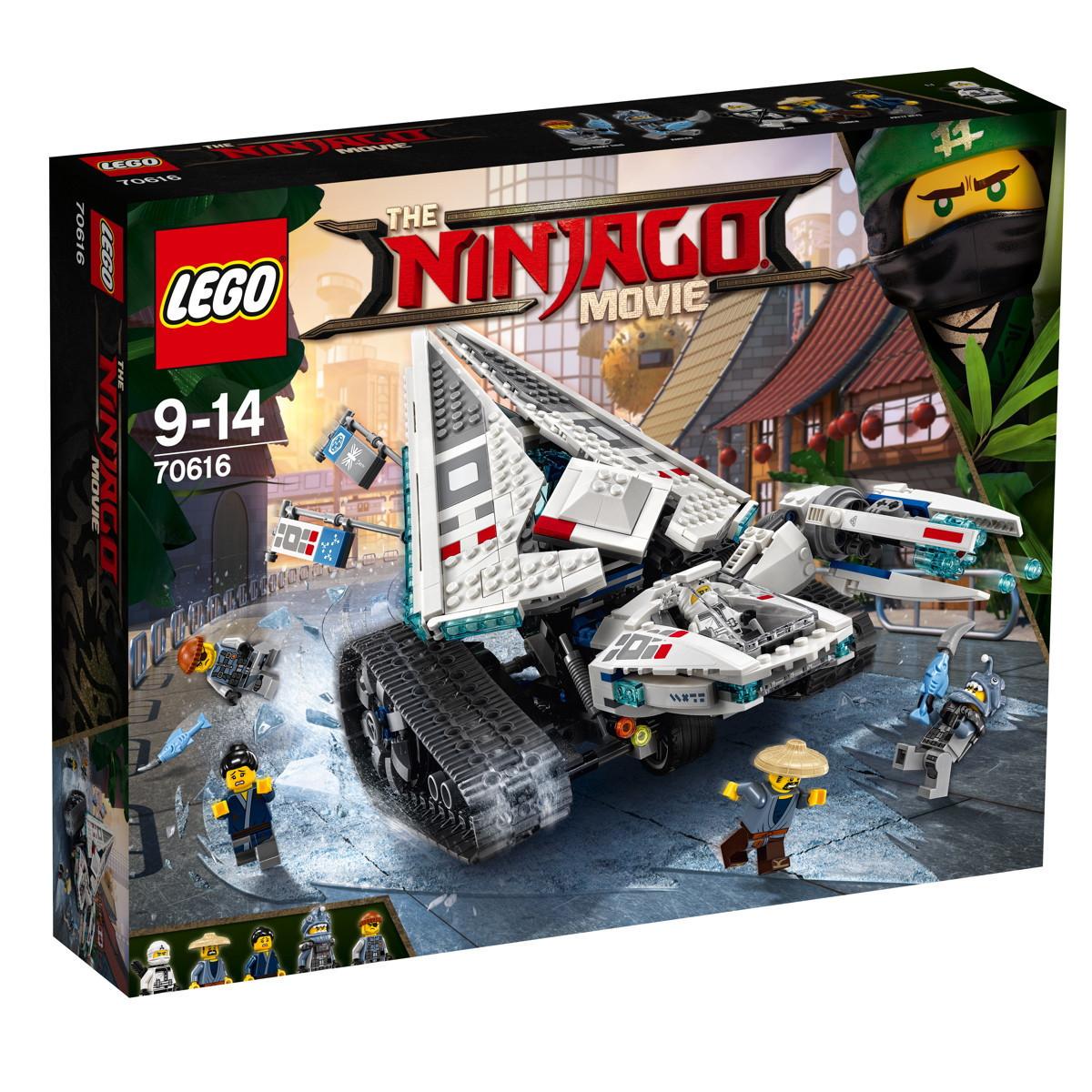 The Lego Ninjago Ледяной танк 70616