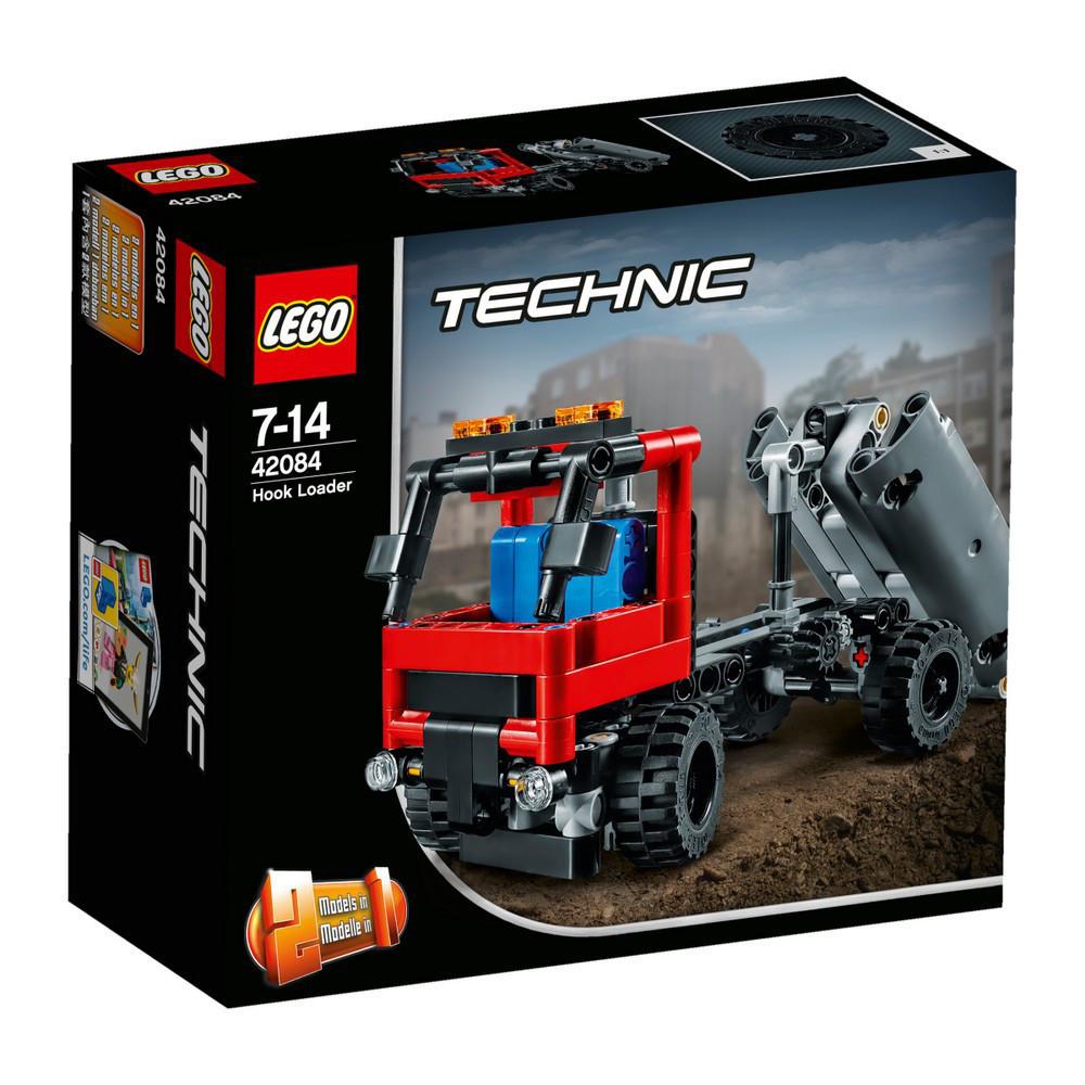Lego Technic Погрузчик с крюком 42084